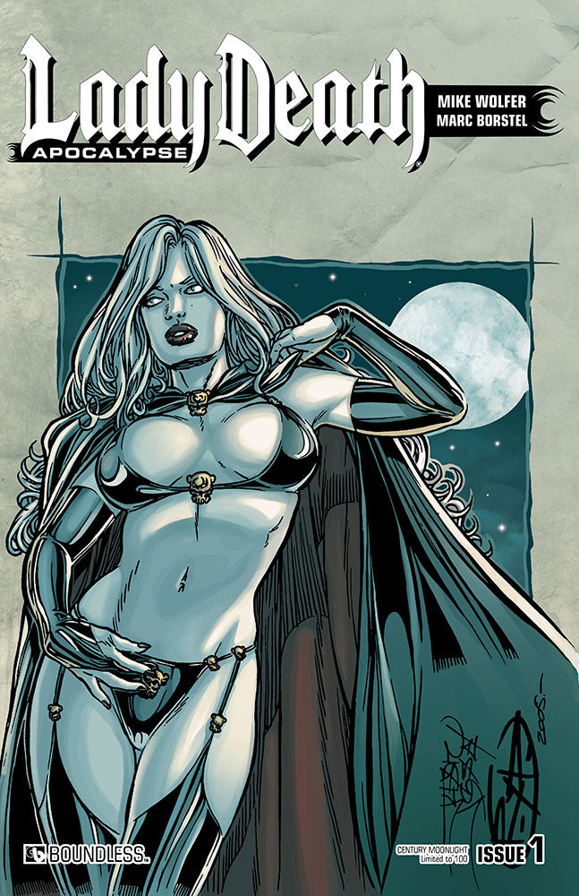 LADY DEATH: APOCALYPSE #1 Century Edition - Moonlight