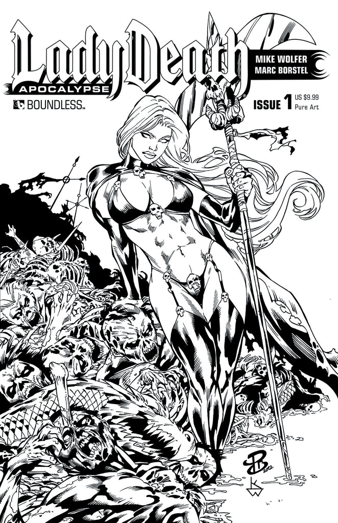 LADY DEATH: APOCALYPSE #1 Premium Pure Art