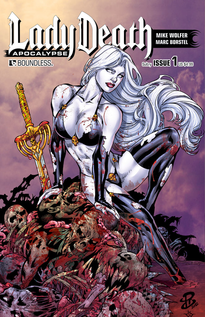 LADY DEATH: APOCALYPSE #1 Sultry