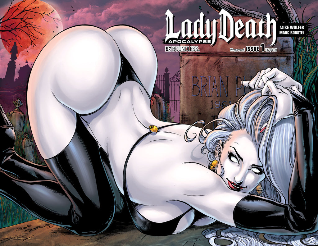 LADY DEATH: APOCALYPSE #1 Wraparound