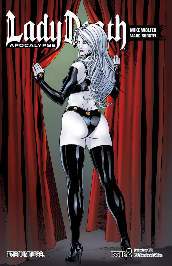 LADY DEATH: APOCALYPSE #2 CGC Numbered Edition