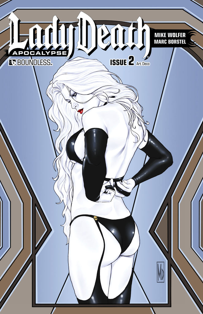 LADY DEATH: APOCALYPSE #2 Art Deco