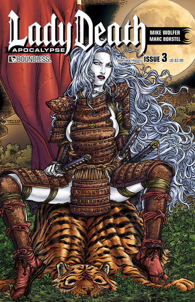LADY DEATH: APOCALYPSE #3 Alternate History