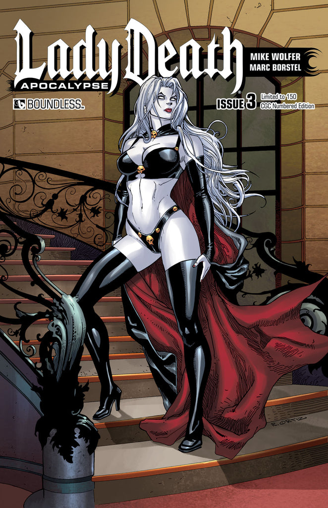 LADY DEATH: APOCALYPSE #3 CGC Numbered Edition