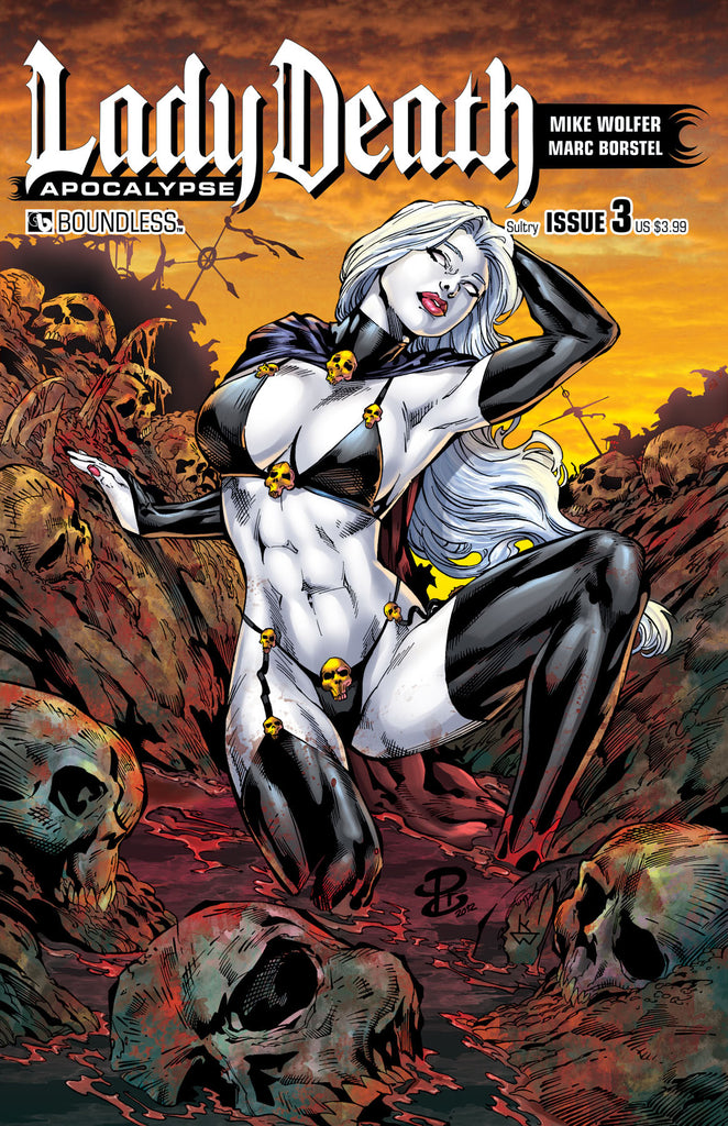 LADY DEATH: APOCALYPSE #3 Sultry