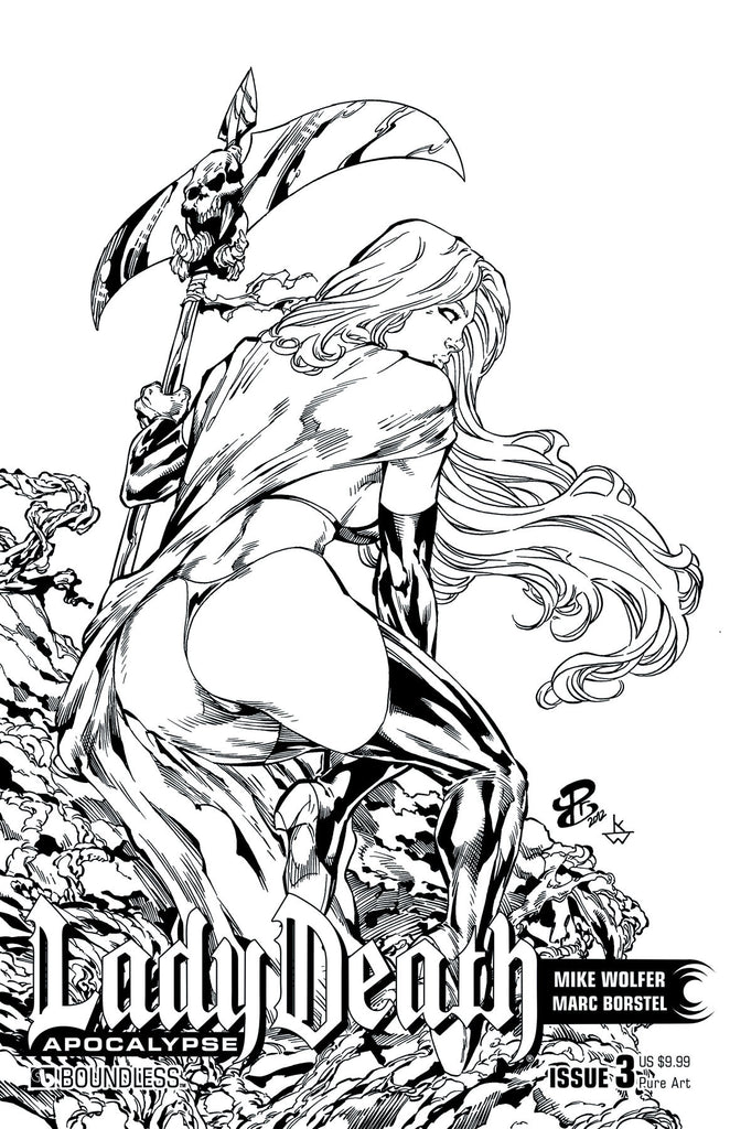 LADY DEATH: APOCALYPSE #3 Pure Art