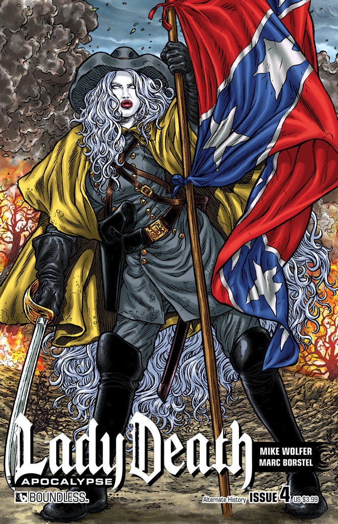 LADY DEATH: APOCALYPSE #4 Alternate History