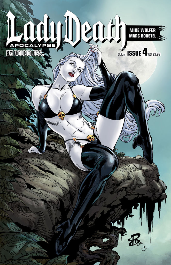 LADY DEATH: APOCALYPSE #4 Sultry