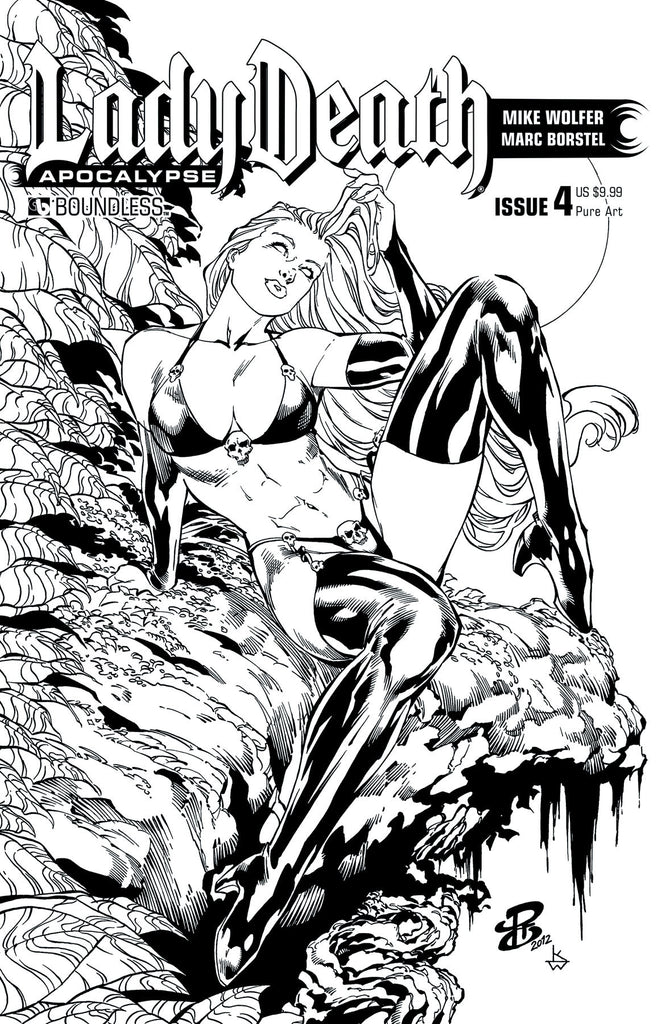 LADY DEATH: APOCALYPSE #4 Pure Art