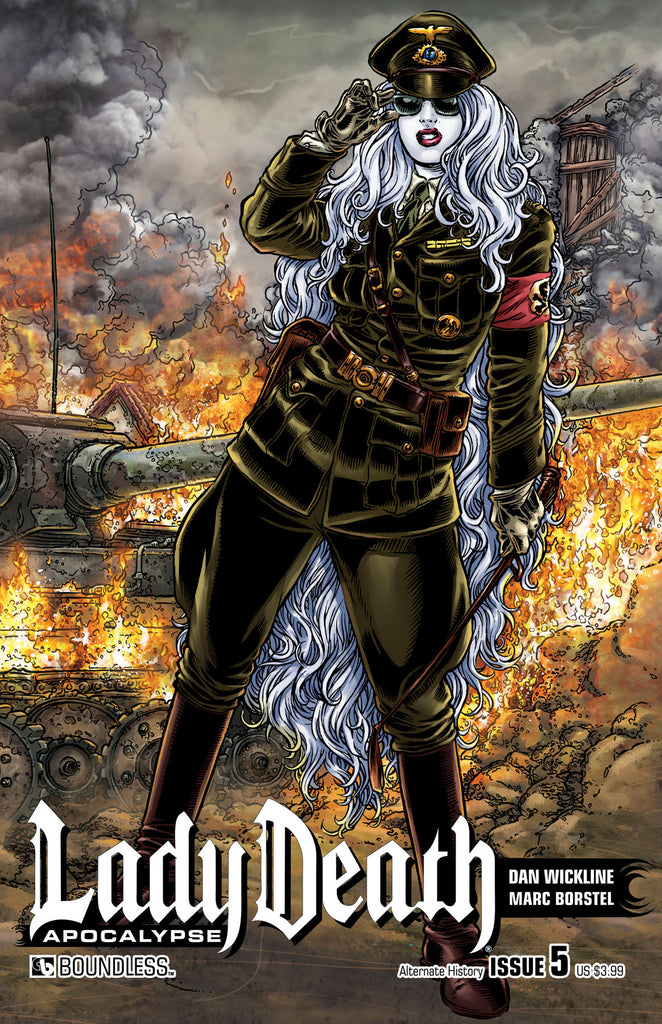 LADY DEATH: APOCALYPSE #5 Alternate History