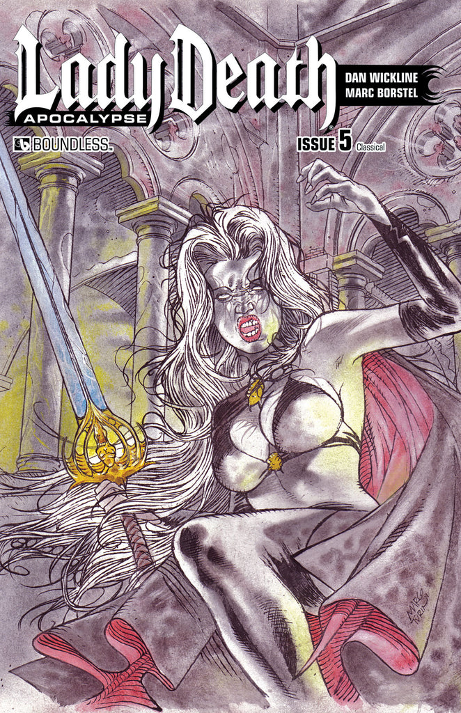 LADY DEATH: APOCALYPSE #5 Classical
