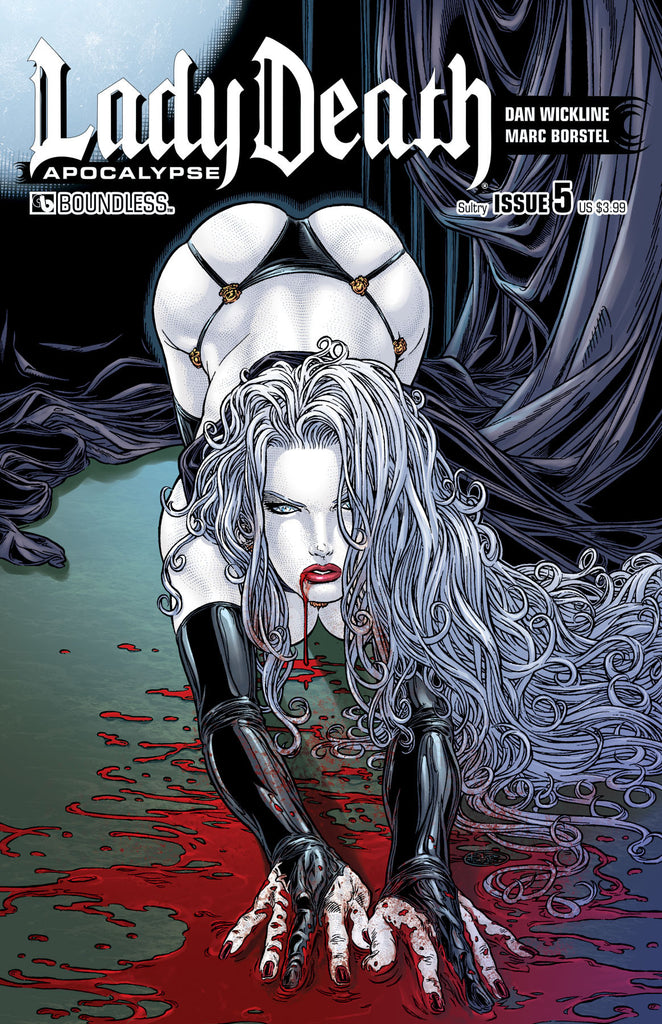 LADY DEATH: APOCALYPSE #5 Sultry