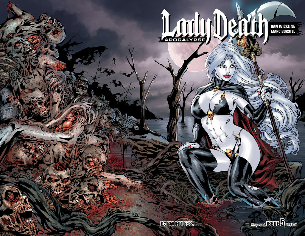 LADY DEATH: APOCALYPSE #5 Wraparound