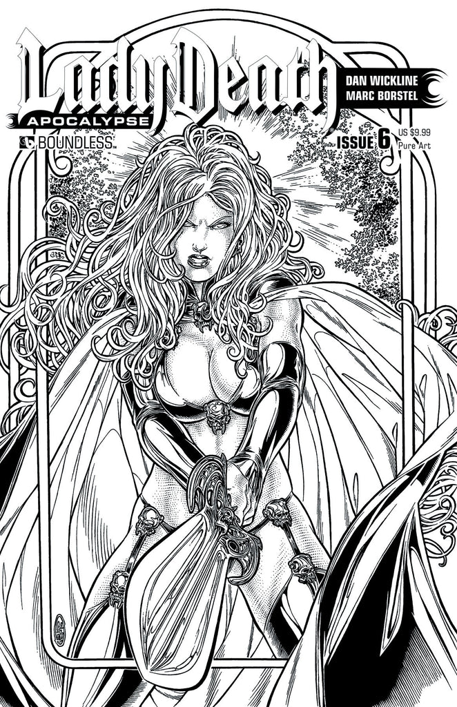 LADY DEATH: APOCALYPSE #6 Pure Art