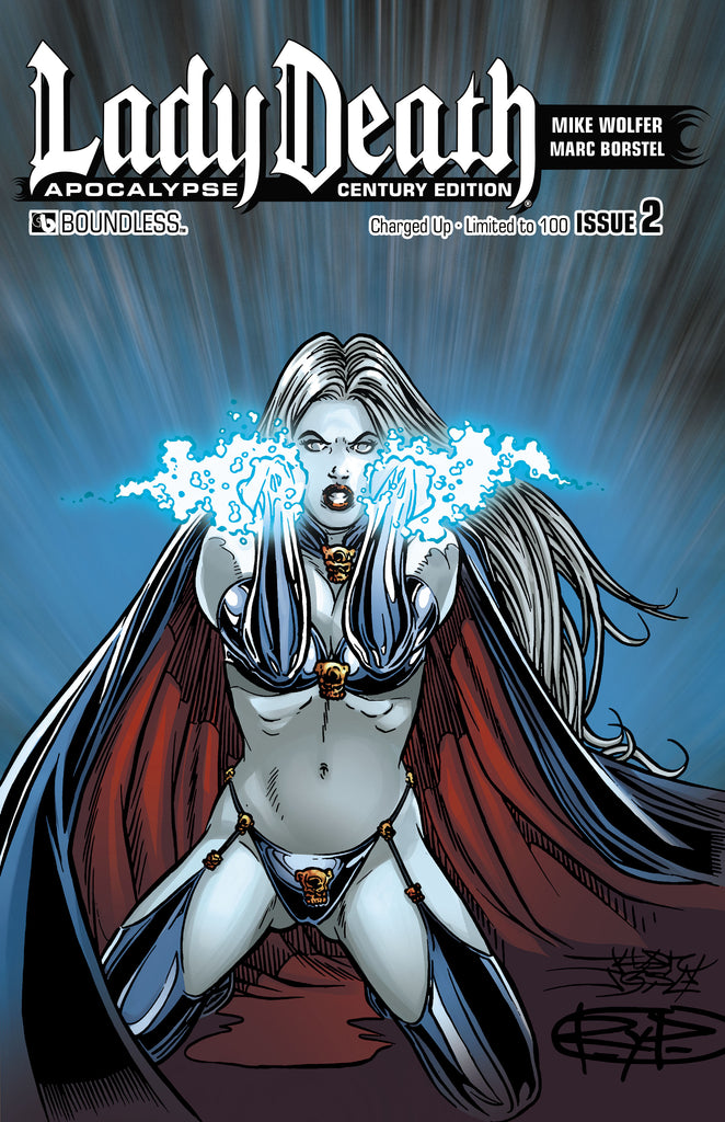 LADY DEATH: APOCALYPSE #2 Century Charged Up