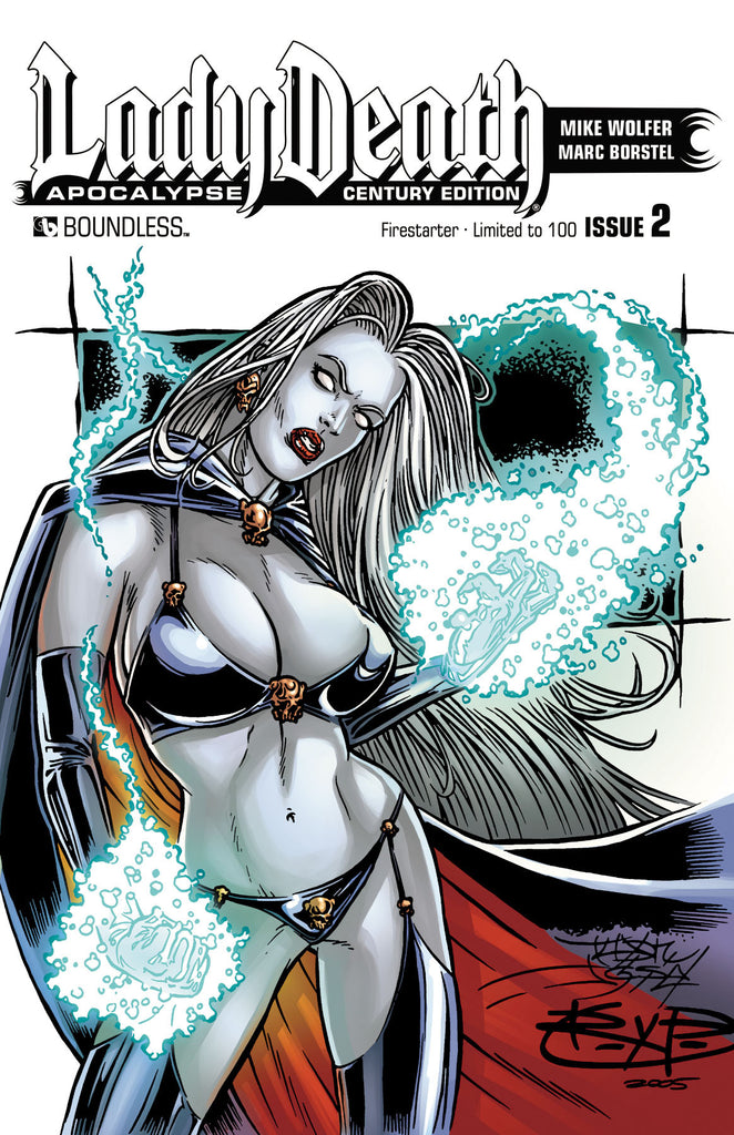 LADY DEATH: APOCALYPSE #2 Century Edition - Firestarter
