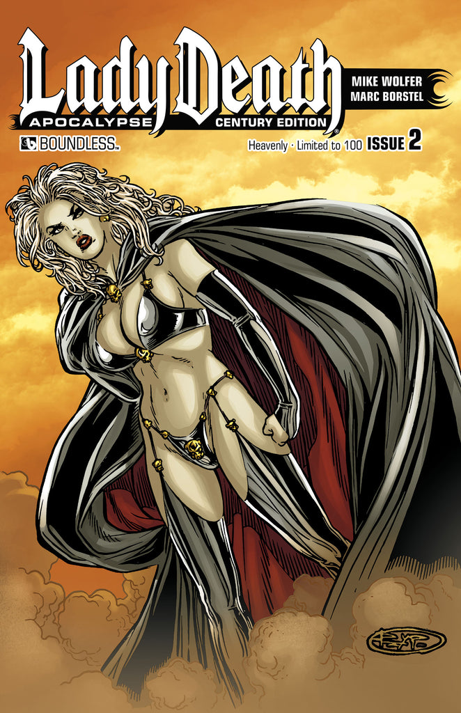 LADY DEATH: APOCALYPSE #2 Century Edition - Heavenly
