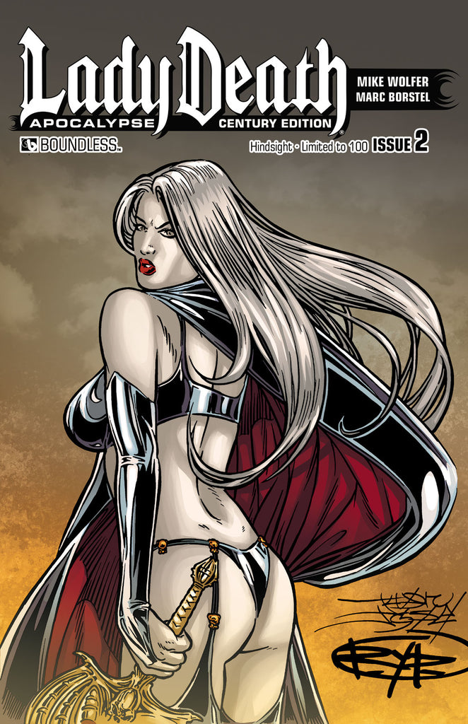 LADY DEATH: APOCALYPSE #2 Century Edition - Hindsight
