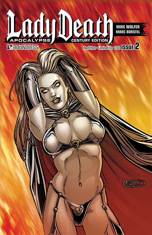 LADY DEATH: APOCALYPSE #2 Century Set (seven covers)