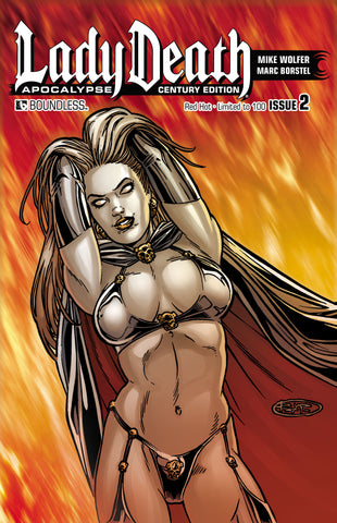 LADY DEATH: APOCALYPSE #2 Century Red Hot