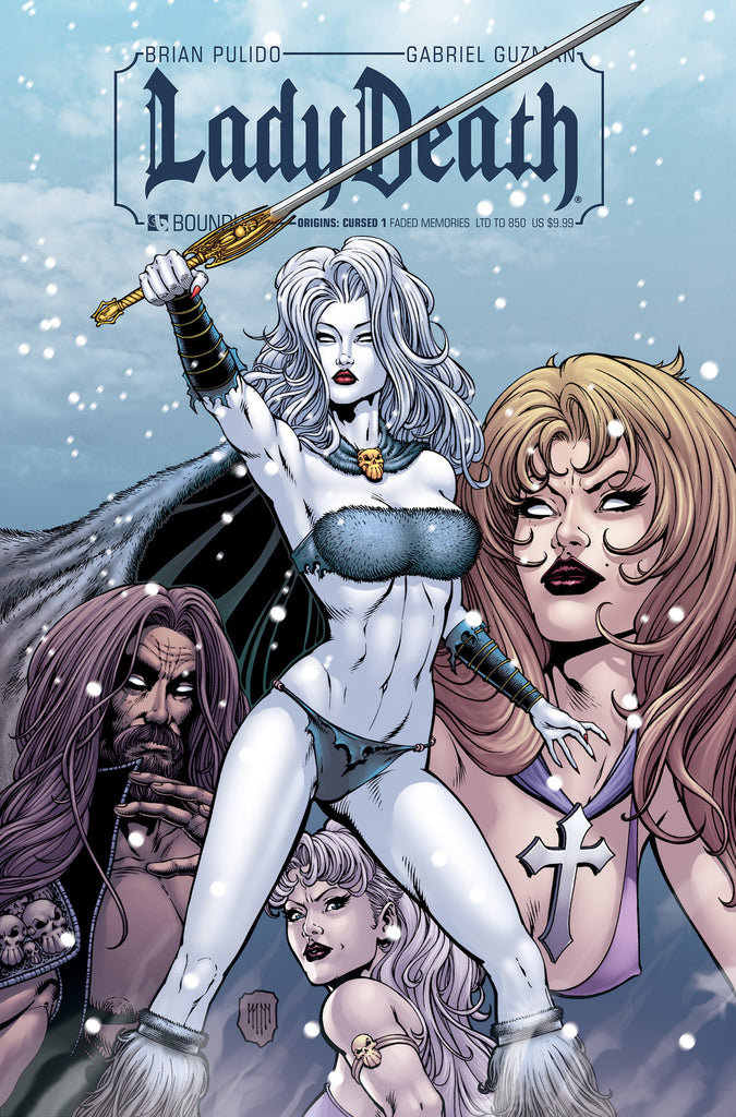 LADY DEATH ORIGINS: CURSED #1 FADED MEMORIES CVR