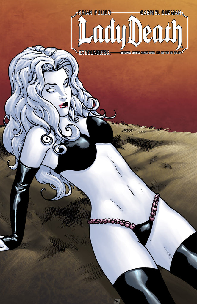 LADY DEATH ORIGINS: CURSED #1 KICK BACK CVR