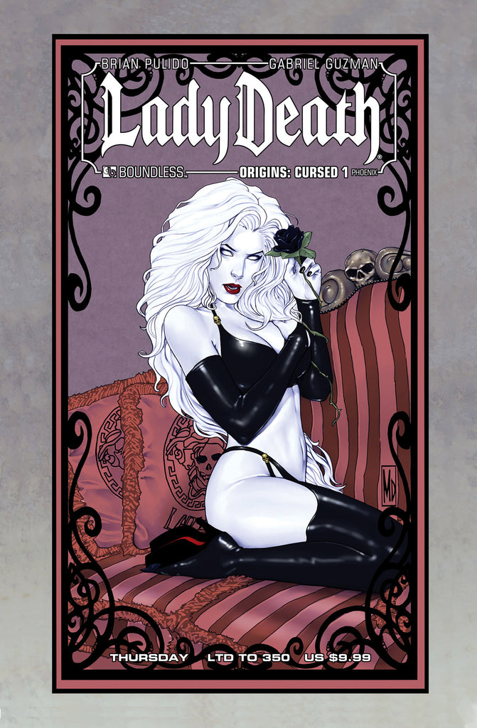 LADY DEATH Origins Cursed #1 Phoenix Thursday