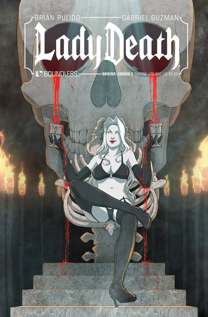 LADY DEATH ORIGINS: CURSED #2 THRONE COVER