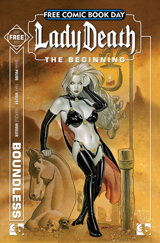 FCBD 2012 LADY DEATH:  THE BEGINNING