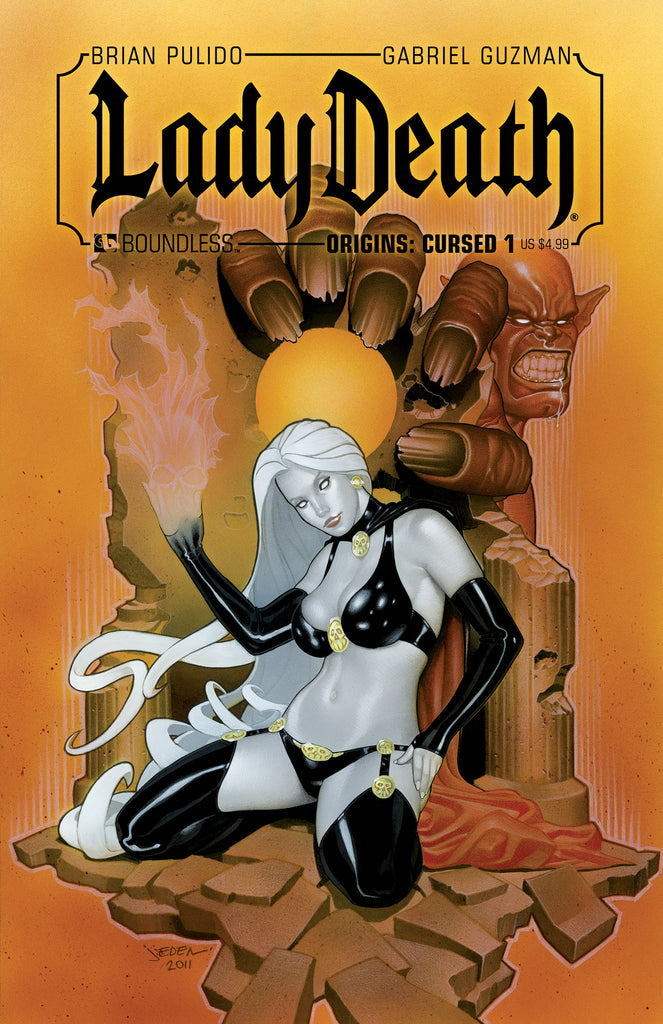 LADY DEATH ORIGINS: CURSED #1