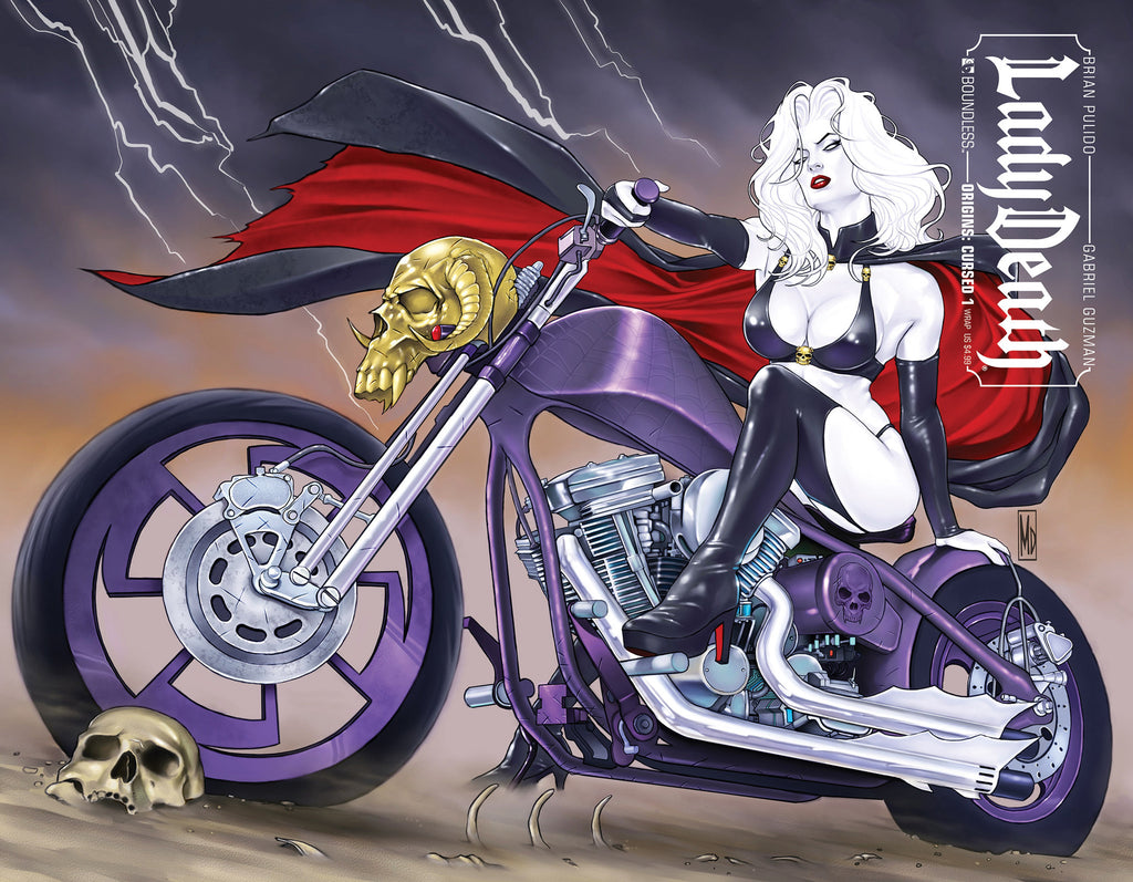 LADY DEATH ORIGINS: CURSED #1 Wraparound