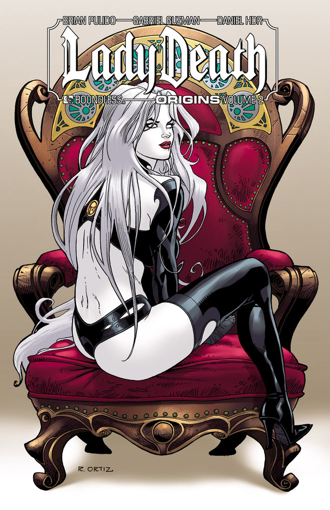 LADY DEATH: ORIGINS Vol 2  Signed HC