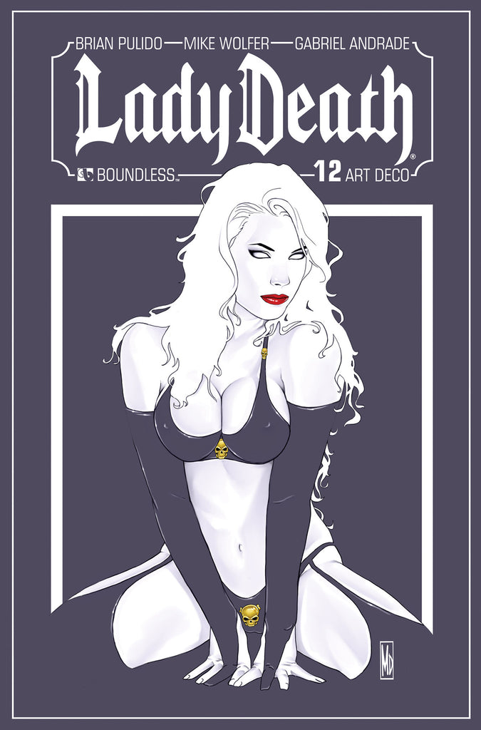 LADY DEATH #12 Art Deco order incentive
