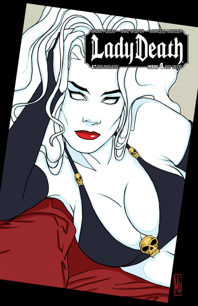 LADY DEATH #4  Art Deco order incentive