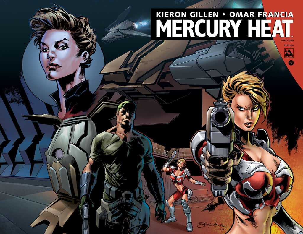 MERCURY HEAT #2 Wraparound