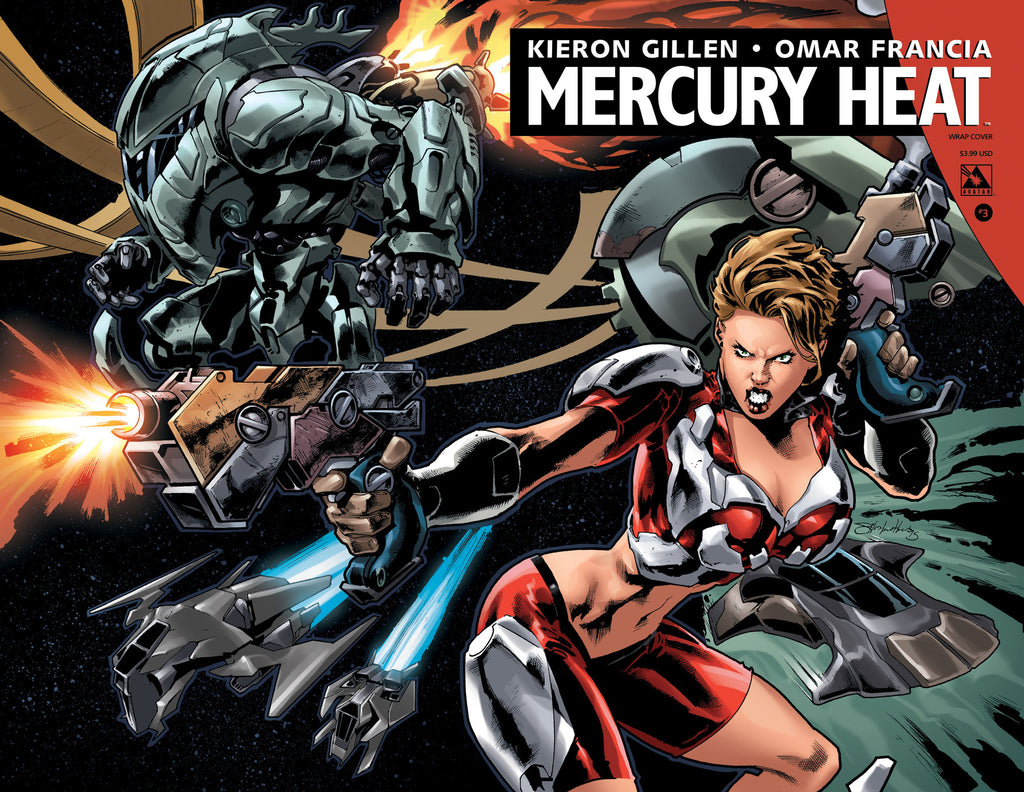 MERCURY HEAT #3 Wraparound