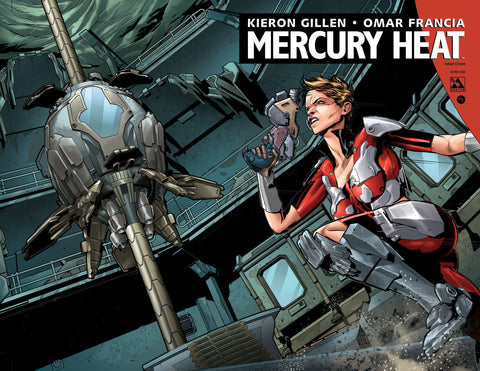 MERCURY HEAT #1 Wraparound