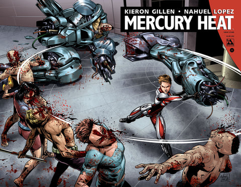 MERCURY HEAT #11 Wraparound