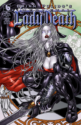 MEDIEVAL LADY DEATH #5-8 COMPLETE BOX SET