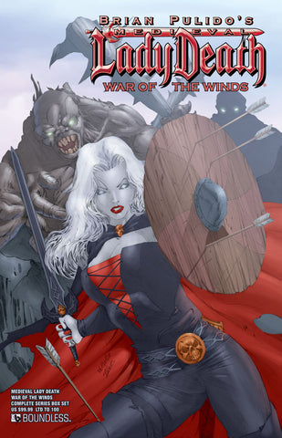 MEDIEVAL LADY DEATH: WAR OF THE WINDS COMPLETE SERIES BOX SET