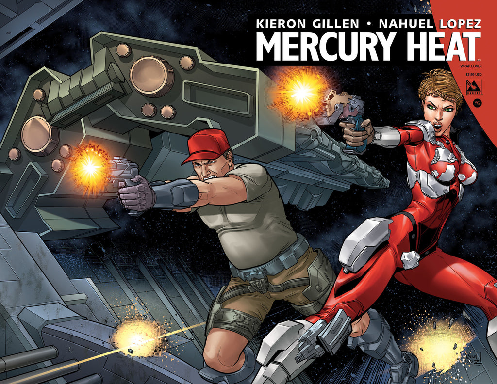 MERCURY HEAT #5 Wraparound