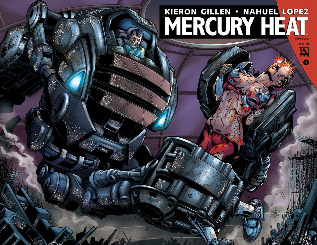 MERCURY HEAT #9 Wraparound