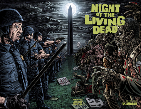 NIGHT OF THE LIVING DEAD #2 Wraparound