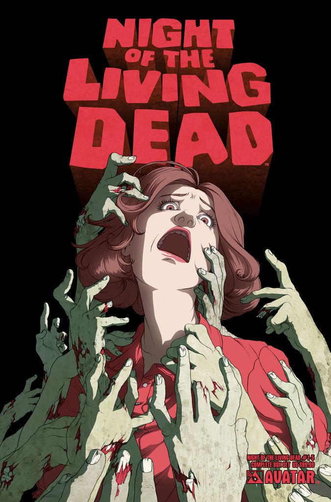 NIGHT OF THE LIVING DEAD #1-5 COMPLETE BOX SET