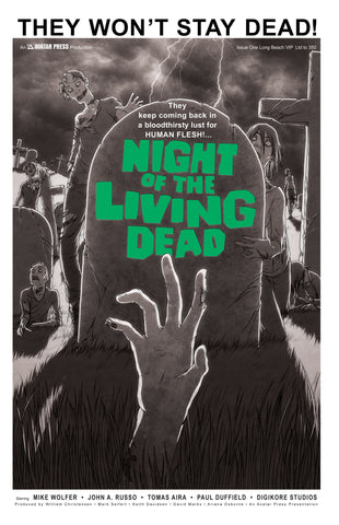 Night of the Living Dead #1 Long Beach VIP