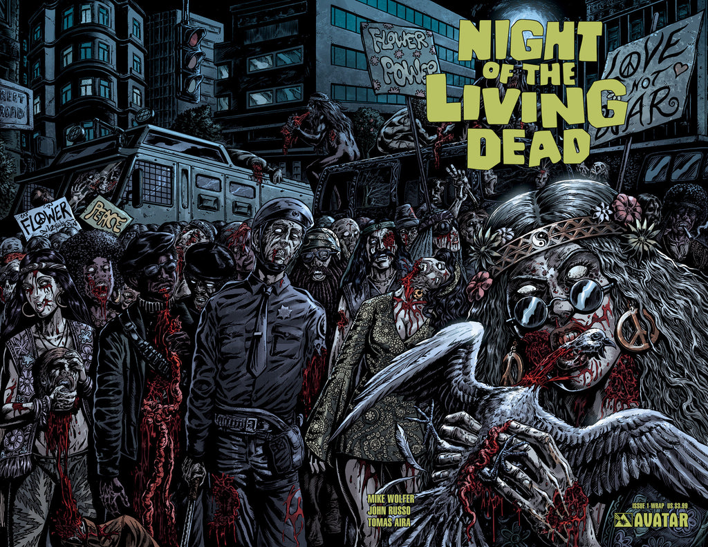 NIGHT OF THE LIVING DEAD #1 Wraparound