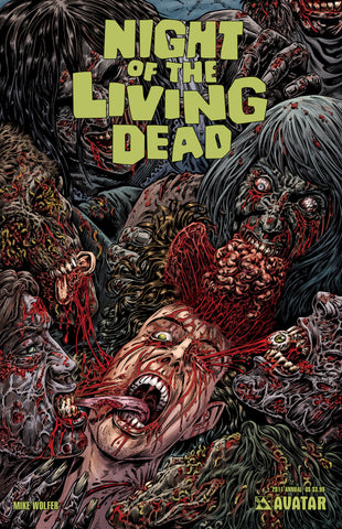 NIGHT OF THE LIVING DEAD 2011 Annual Gore