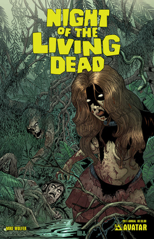 NIGHT OF THE LIVING DEAD 2011 Annual - Digital Copy