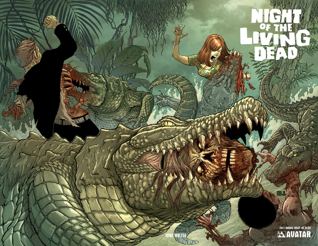 NIGHT OF THE LIVING DEAD 2011 Annual Wraparound