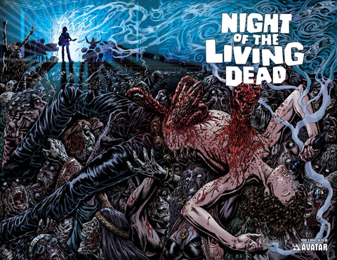 NIGHT OF THE LIVING DEAD #3 Wraparound